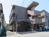 鉄筋コンクリート3階建ての外観タイル貼りマンション!
