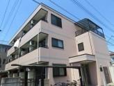 鉄骨造3階、外観タイル張りのオシャレなマンション!