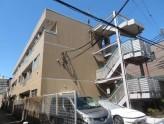 鉄骨造3階建てのマンション!